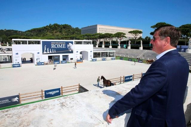 """LONGINES GLOBAL CHAMPIONS TOUR DI ROMA: """"MARVELOUS""""! PAROLA DI JAN TOPS"""