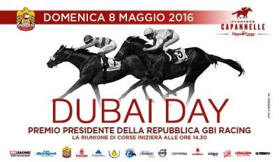 DUBAI DAY: UNA GRANDE GIORNATA CON IL PREMIO PRESIDENTE DELLA REPUBBLICA GBI RACING E LE CORSE PER I PUROSANGUE ARABI