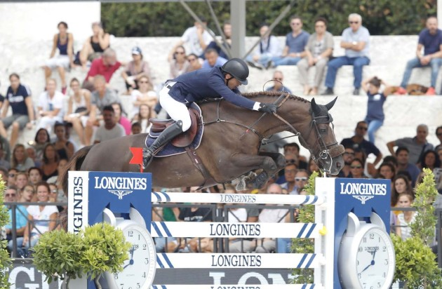 LONGINES GLOBAL CHAMPIONS TOUR GRAND PRIX: A ROMA VINCE HARRIE SMOLDERS