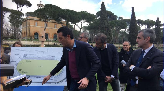 PRESENTATO IL PROGETTO CONI/FISE PIAZZA DI SIENA 2018