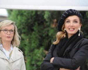 A Piazza di Siena con Milly Carlucci