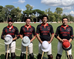 Il polo team Battistoni-Castelluccia